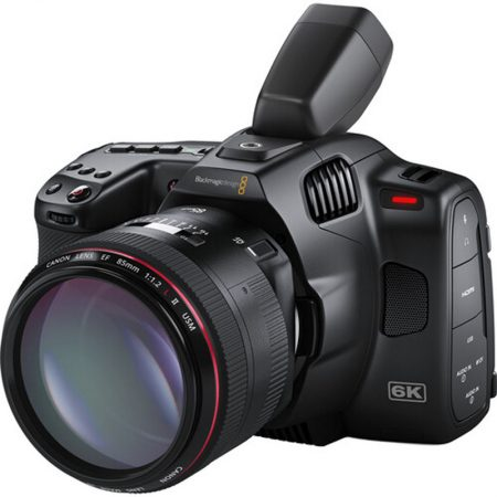 Cinema Cámara 6k Pro Blackmagic - con lente isométrica