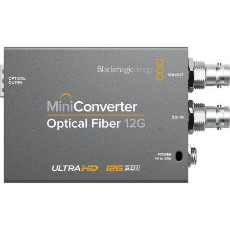 Mini Converter Optical Fiber 12G - Superior